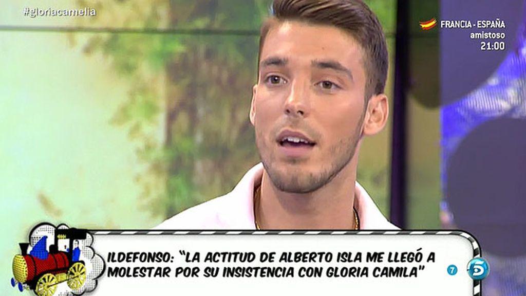 """Ildefonso: """"Alberto Isla era mi amigo y se quiso meter en mi relación con Gloria Camila"""""""