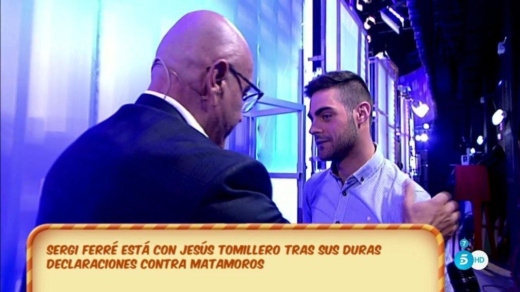 """El tenso encuentro entre Matamoros y Jesús Tomillero, el """"arbitrucho"""""""