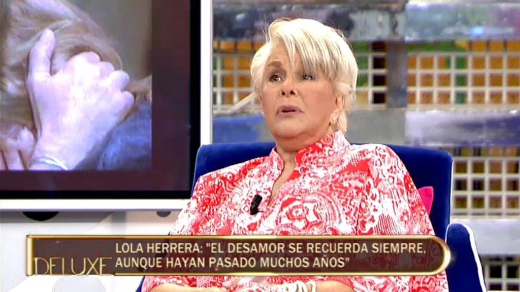 """Lola Herrera: """"Nadie debería decir 'no te quiero', es innecesario"""""""