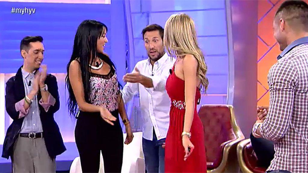 """Antonio David: """"Aura se pone el vestido de Luisa y lo revienta"""""""