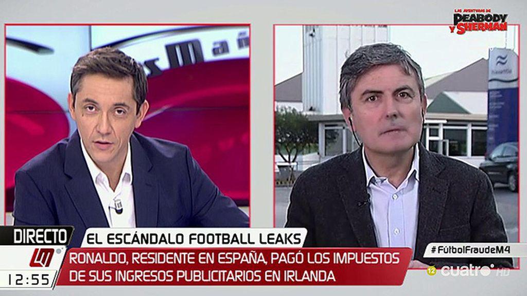"""Pedro Saura: """"Desgraciadamente, no somos todos iguales ante Hacienda"""""""