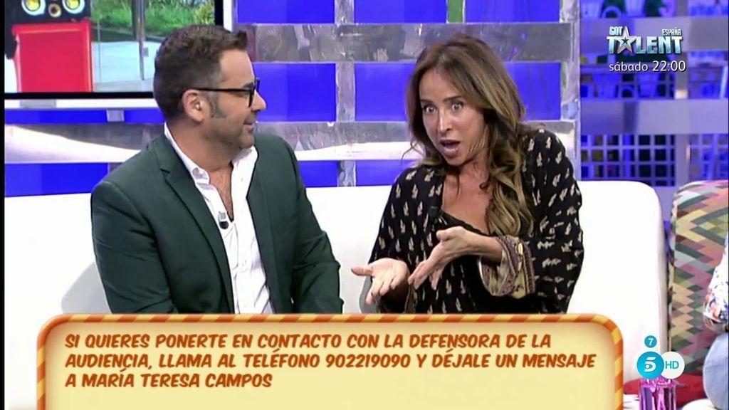 María Patiño imita a Raquel Bollo