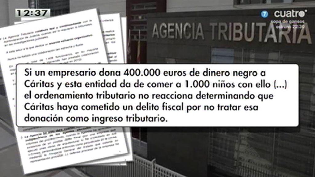 Hacienda compara al PP con Cáritas para eximirle de tributación, según la Cadena Ser