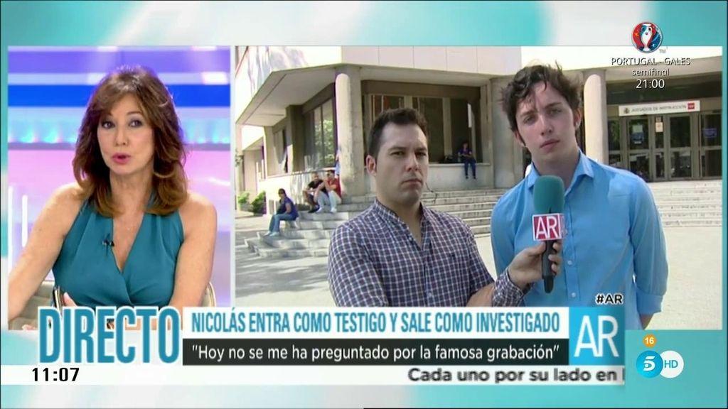 F.Nicolás entra como testigo y sale como investigado en el caso contra Villarejo