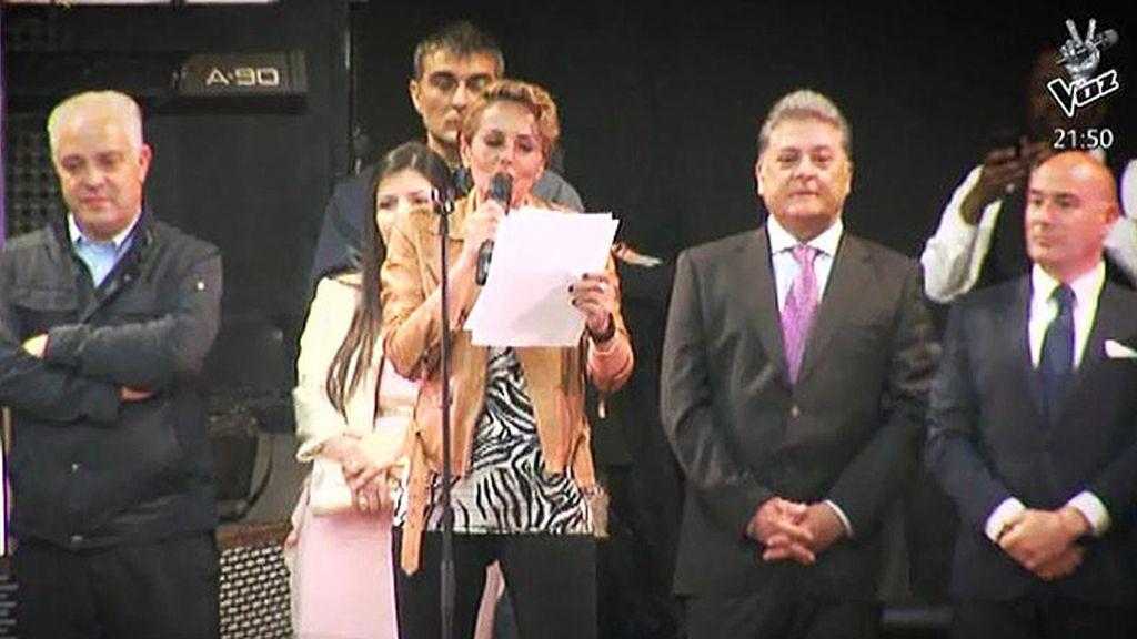 Rocío Carrasco debuta como pregonera