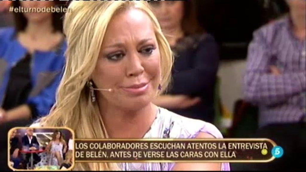 """Belén: """"Ni Jesulín ni Fran me han dado lo que me ha dado Miguel, a mí y a mi hija"""""""