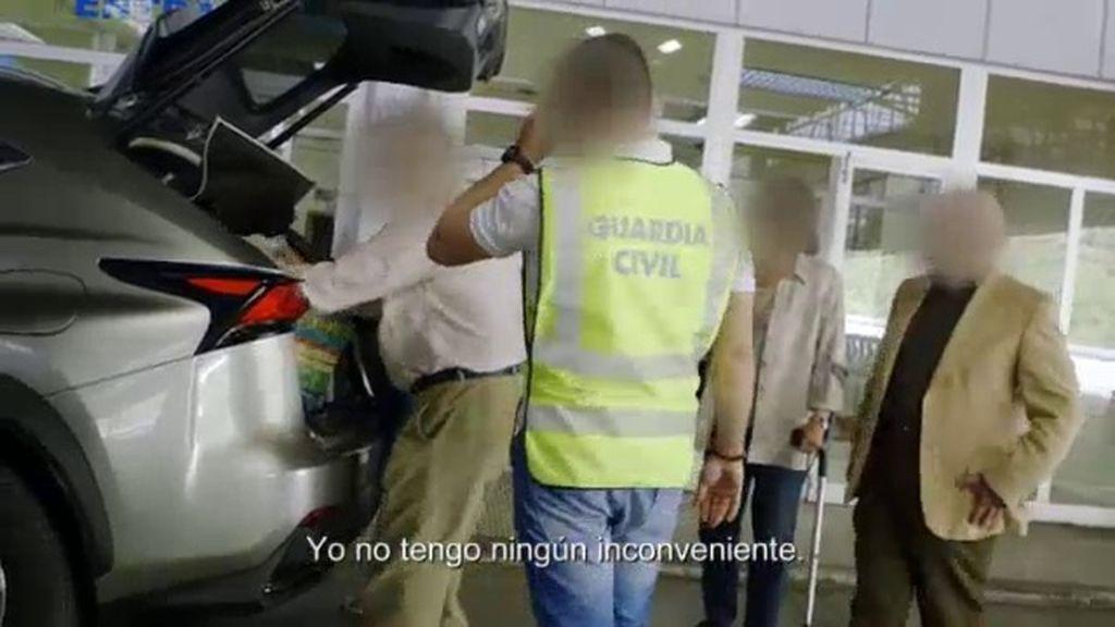 'Infiltrados' graba varios controles de la Guardia Civil en la aduana de Andorra