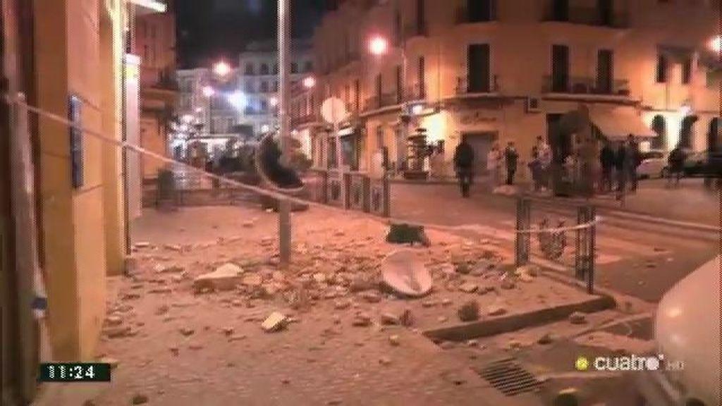 Málaga y Melilla, principales afectadas por un seísmo de 6,3 grados en el mar de Alborán
