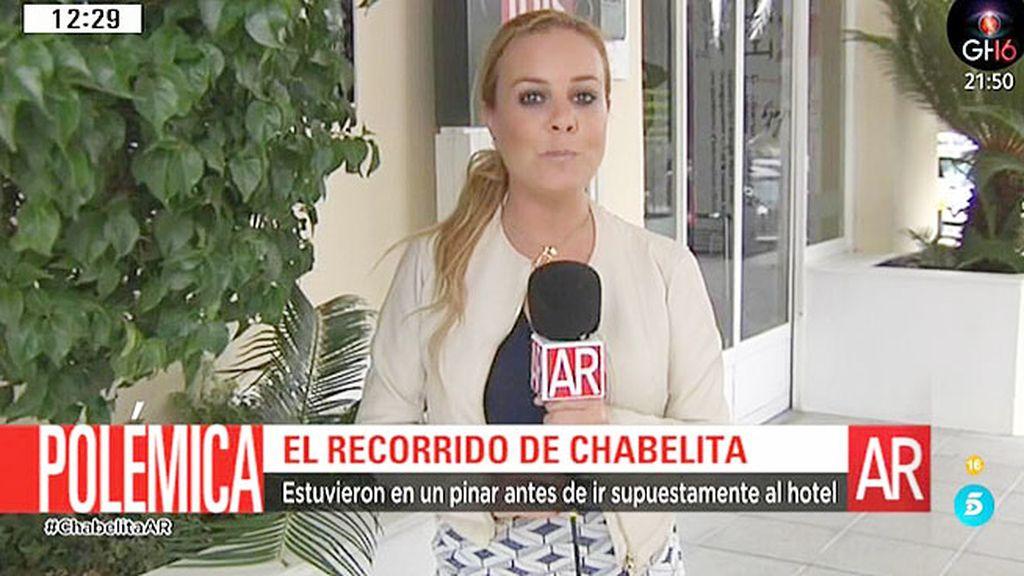 'AR' reconstruye el recorrido que supuestamente hizo Chabelita con Diego