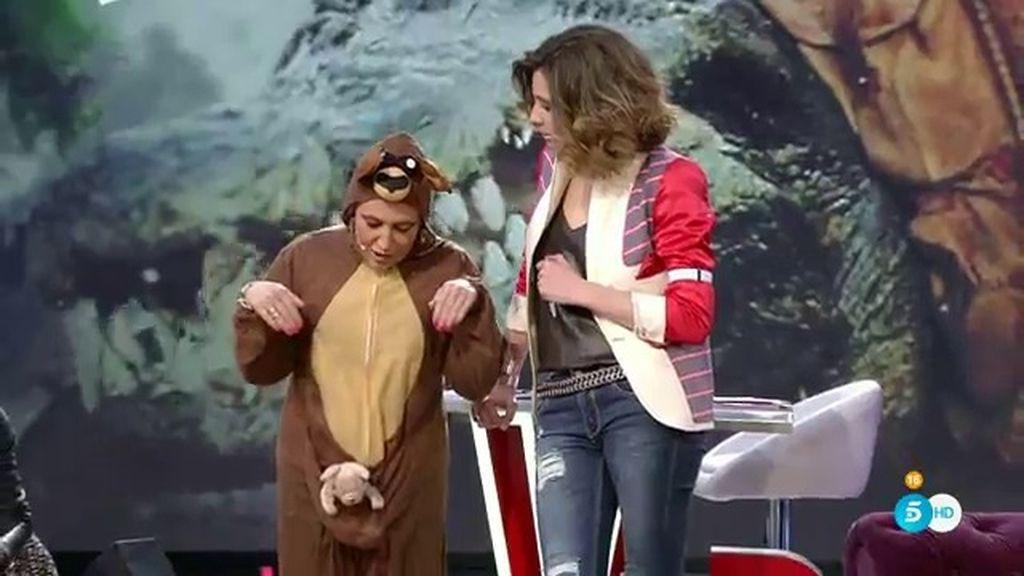 """Lydia Lozano se viste de canguro: """"La vida es maravillosa siendo un canguro"""""""