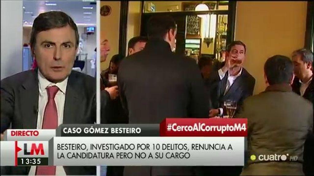 """Pedro Saura: """"El PSOE está asumiendo sus responsabilidades y está exigiendo responsabilidades políticas"""""""