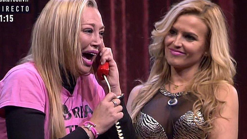 "Andrea, a su madre Belén Esteban: ""He aprobado todo"""