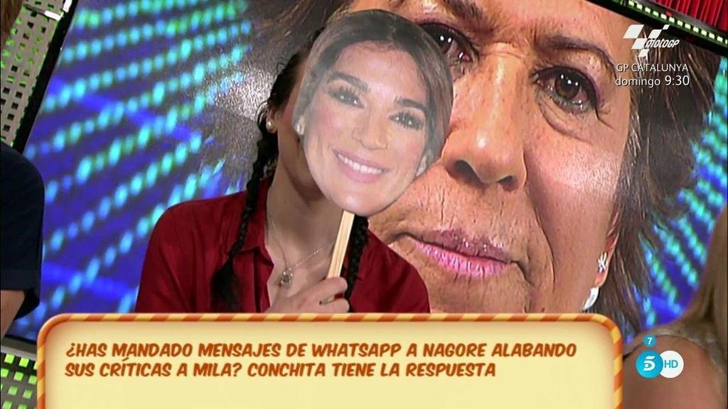 Raquel Bollo mandó mensajes en contra de Mila Ximénez a Nagore, según el Poli
