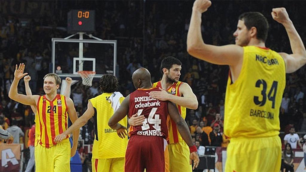 El Barcelona fulmina al Galatasaray (75-78) y espera al Madrid en la Final Four