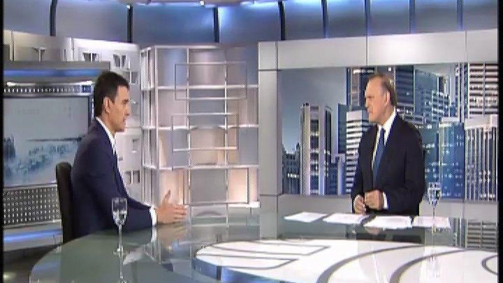 "Sánchez: ""No me va a temblar el pulso en echar a ningún corrupto del PSOE"""