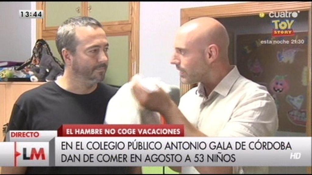 Siete comedores infantiles de Córdoba abren sus puertas en el mes de agosto