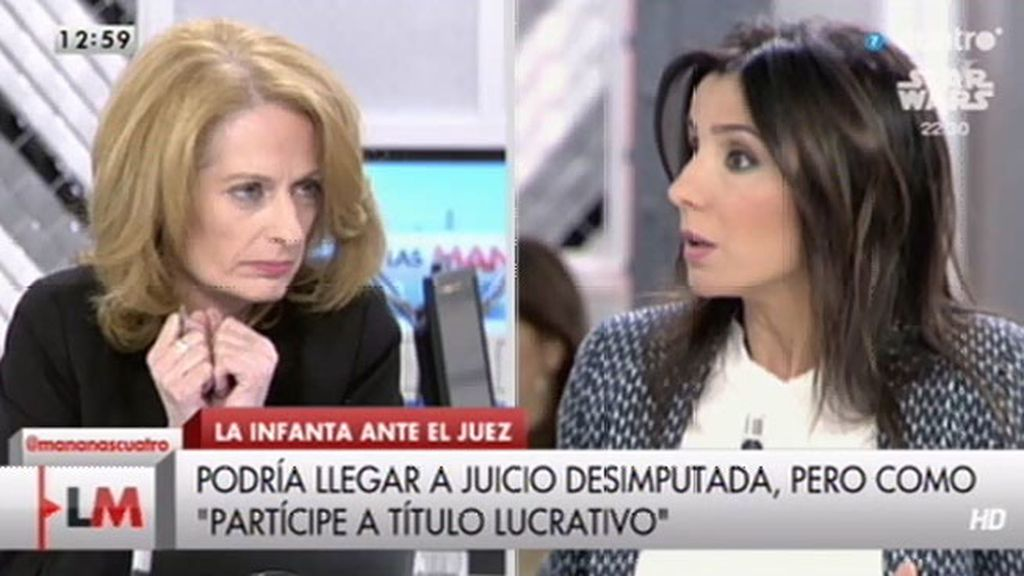 "Carmen Morodo, a Alicia Gutiérrez: ""Es manipular lo 'inmanipulable"""