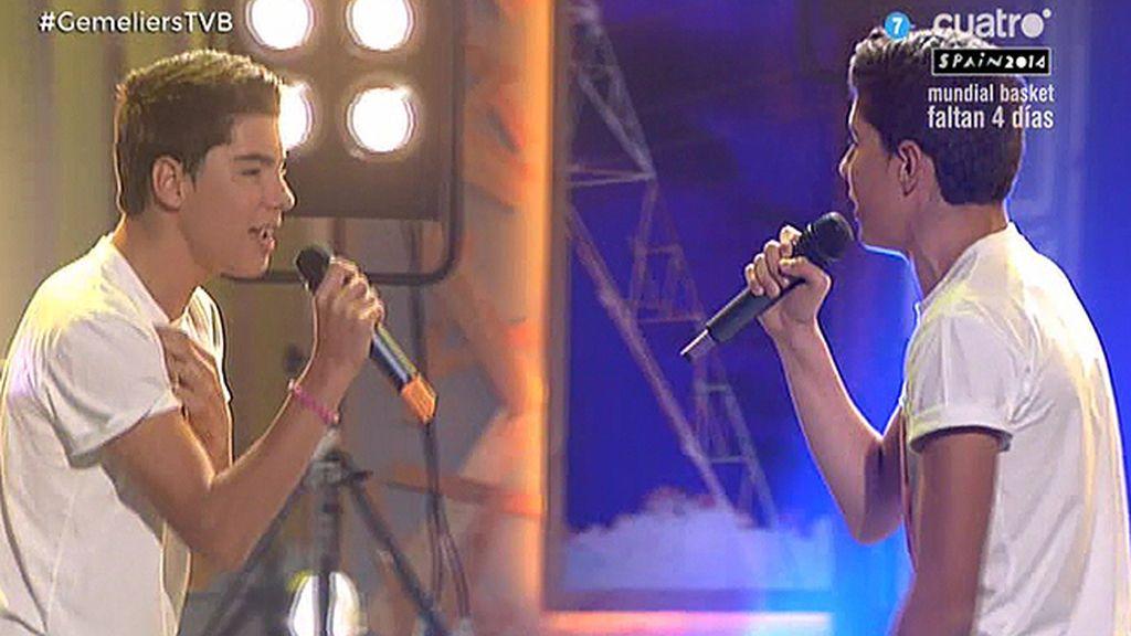 """'Los Gemeliers' cantan en directo su nuevo tema: """"Tan sólo tú y yo"""""""