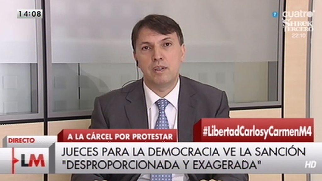 """El juez J. Bosch cree """"desproporcionada"""" la condena de Carlos y Carmen"""