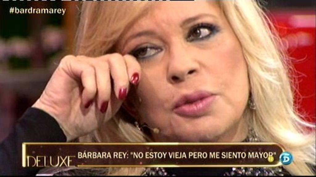 """Bárbara Rey: """"No pasa una sola noche que no termine llorando"""""""