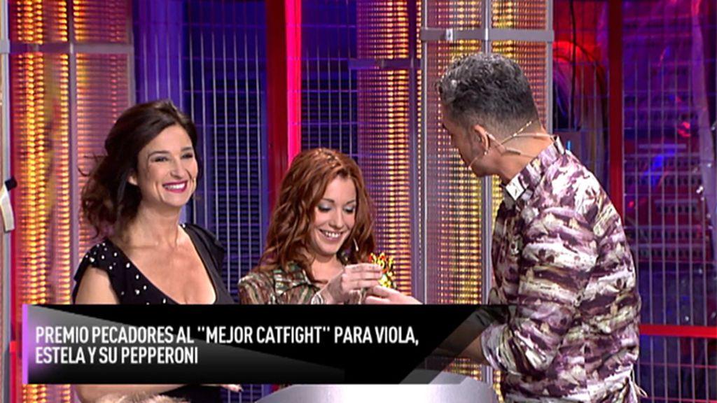 ¡Estela y Viola son las ganadoras en la categoría de 'catfight'!