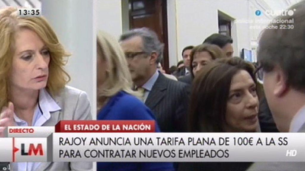 """A. Gutiérrez: """"Creo que Rajoy ha empezado hoy la campaña electoral para las europeas"""""""
