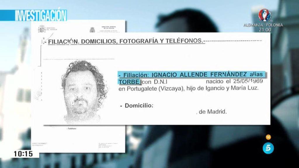 'AR' tiene acceso en exclusiva a la ficha policial de Ignacio Allende, Torbe