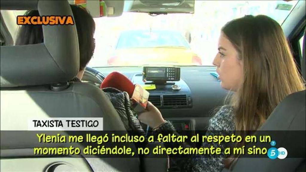 El testimonio de la taxista que llevó a Ylenia Padilla y Francisco Nicolás