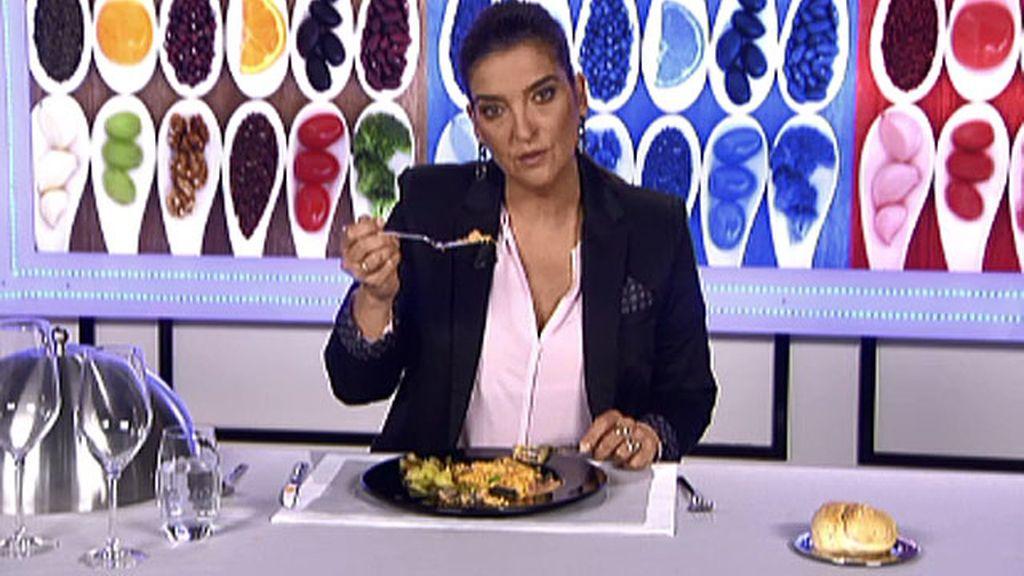 María Jiménez Latorre incluye el salmón con gambas en la lista de los platos asesinos