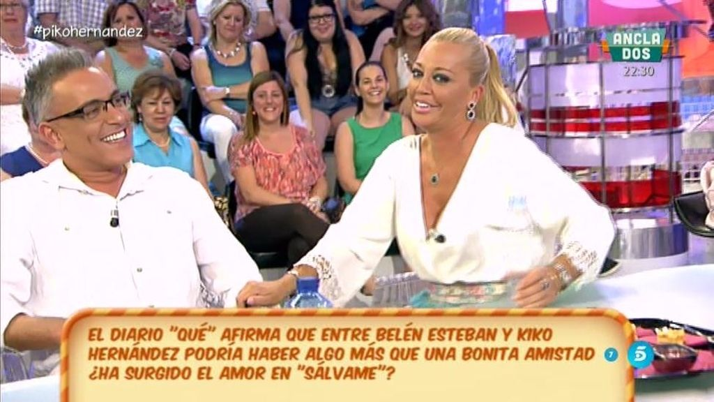 ¿Belén Esteban y Kiko Hernández son algo más que amigos?