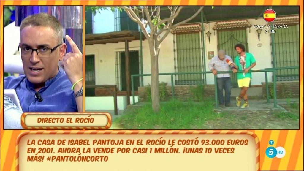 """Kiko H: """"Durante tres años consecutivos hay una persona que dice que ha alquilado la casa de Pantoja"""""""