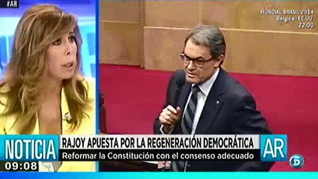 """Alicia Sánchez-Camacho: """"El Gobierno no debe darle una solución a Artur Mas"""""""