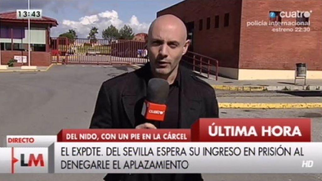 """José María del Nido, a Nacho Pulido: """"No tengo aún fecha de entrada en prisión"""""""