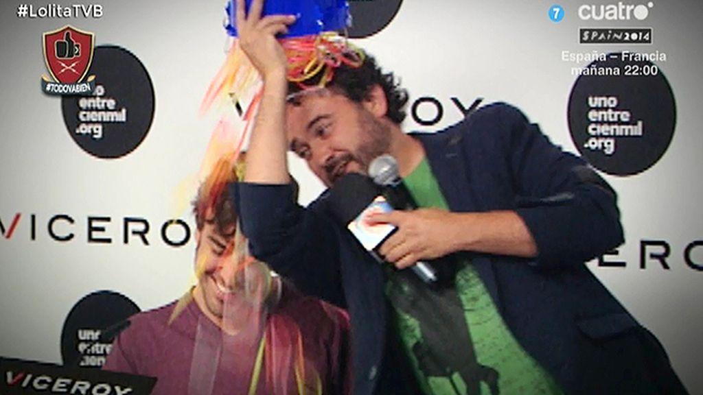 Miguel Martín reta Fernando Alonso a cumplir el reto #PulseraBucketChallenge