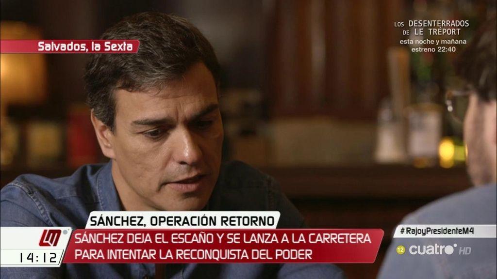 """Sánchez, de Susana Díaz: """"Si quiere liderar el PSOE como así parece, tiene la obligación de dar un paso al frente"""""""