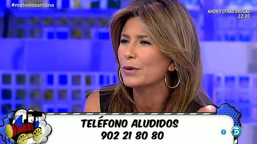 El club de tenis ha tenido problemas por la actitud de Claudia, según Gema López