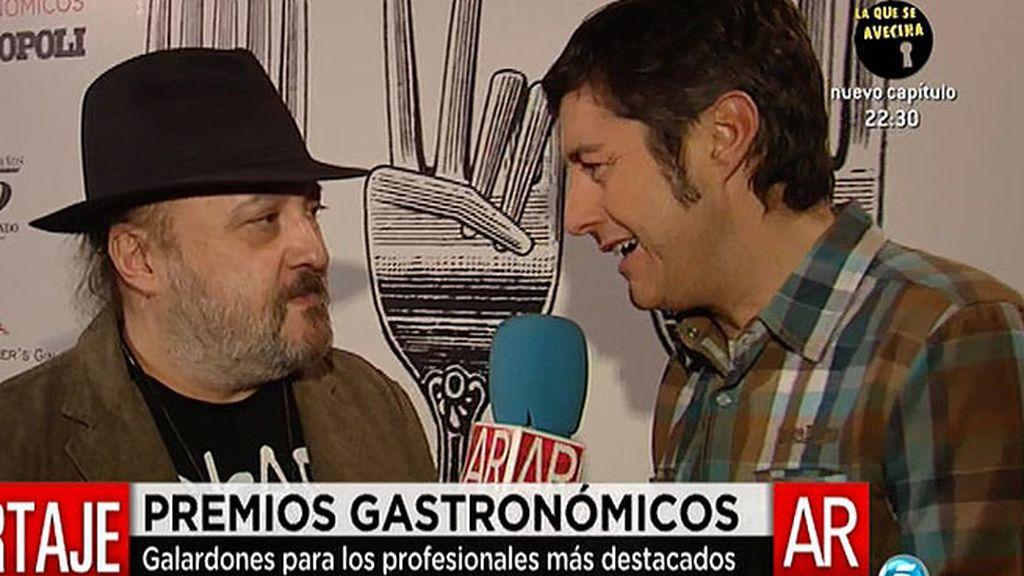 El buen comer y el buen beber son premiados en Madrid
