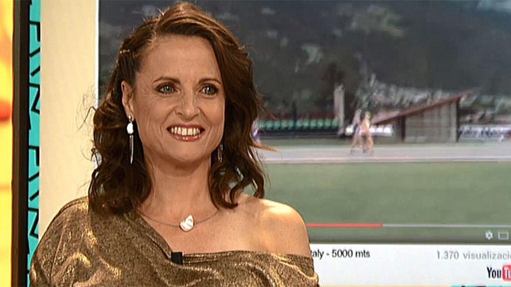 Sandra es campeona de retrorunning: Lo suyo es correr hacia atrás