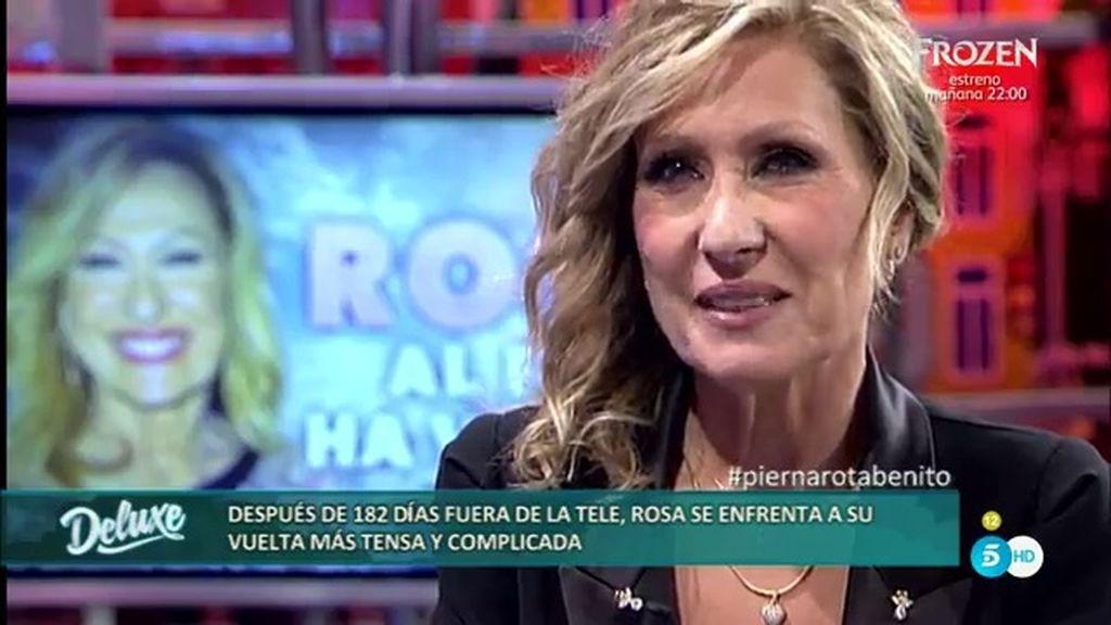 "Rosa Benito: ""He sido una cobarde porque tenía miedo a enfrentarme a mis compañeros"""