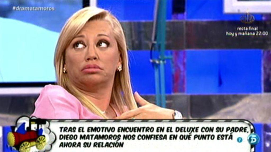 "Belén, sobre Matamoros: ""Me he ido muchas veces de plató, pero no estaba mi hija"""