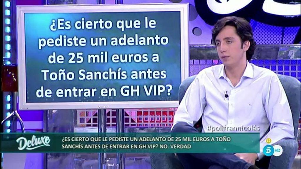 """Fran Nicolás: """"Toño Sanchís quiso quedarse con el 40% de mis contratos"""""""