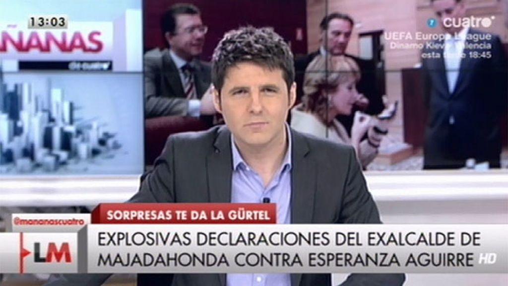 """Jesús Cintora, sobre Francisco Granados: """"Esto es tener mucho morro"""""""