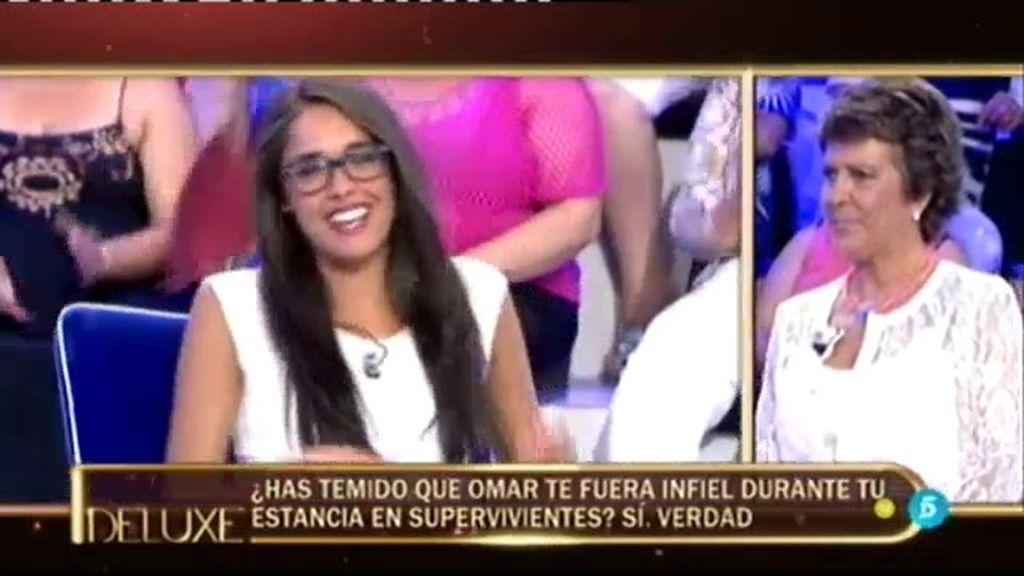 Lucía afirma haber temido que Omar le fuera infiel estando en 'Supervivientes'
