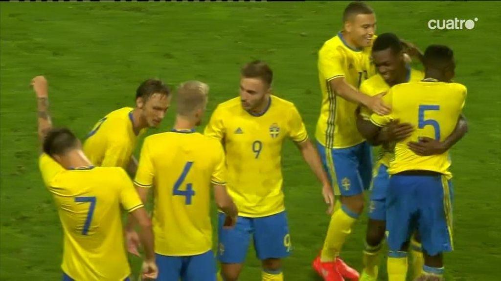 Suecia empata (1-1) con gol en propia de Saúl Ñíguez ¡Qué mala suerte!