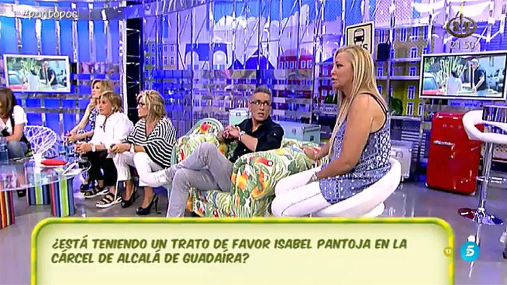 """B. Esteban: """"Pantoja quería llamar a su hija en 'SV' pero le aconsejaron que no llamara"""""""