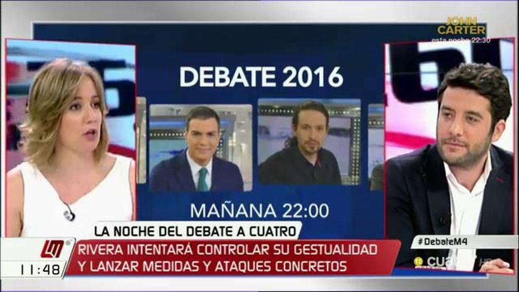 """César Zafra, a Tania Sánchez: """"Ahora sois los mejores amigos del PP, la historia de romper el bipartidismo no os la creéis"""""""