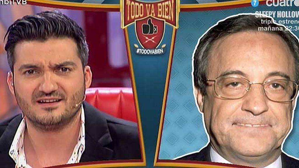 Florentino Pérez habla alto y claro sobre el posible fichaje de Luis Suárez