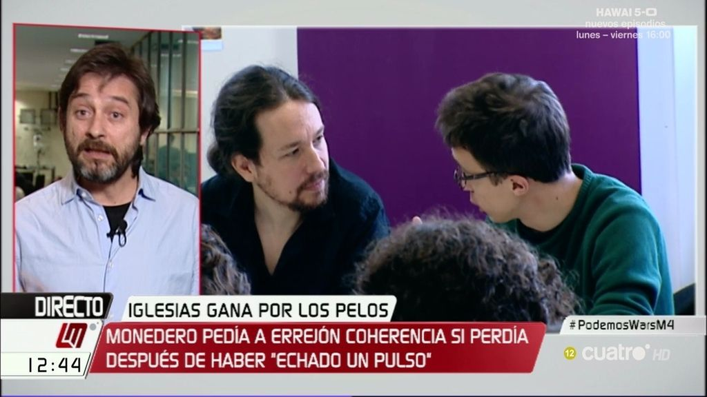 """Mayoral: """"Pablo Iglesias ha sido muy claro en que quiere un Podemos muy plural"""""""