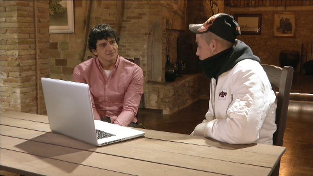 """Jero, a Stephan: """"Yo he visto lo bueno de ti y quiero verlo desde ya"""""""