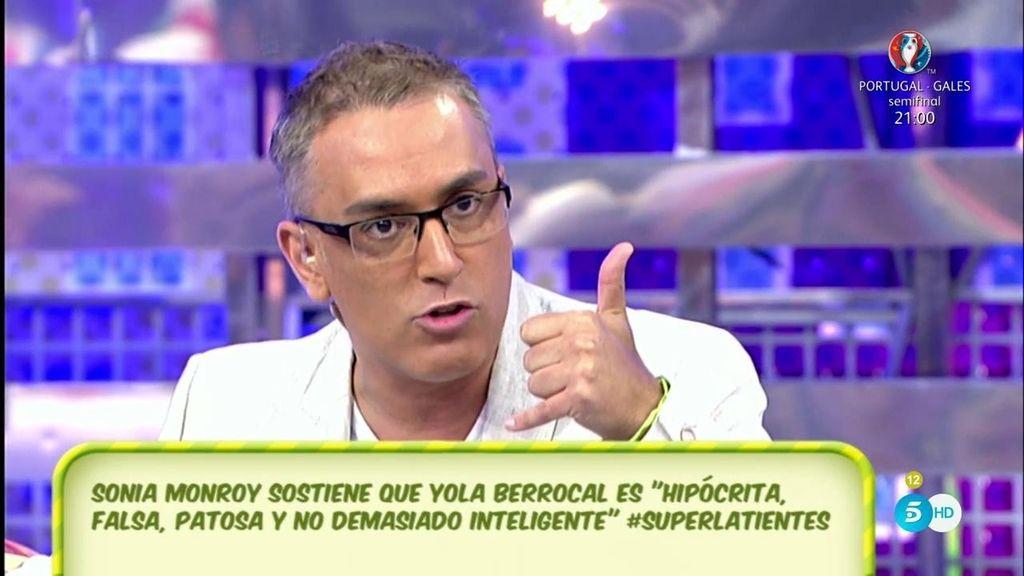 """Yola Berrocal hacía """"encerronas"""" con la prensa, según Kiko Hernández"""